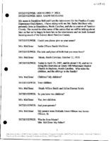 Transcript of the interview with Sadie Ollison McGlone, 23 April 2007 (U-0342)