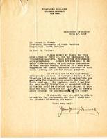 J. Montgomery Gambrill to Edward K. Graham