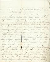 Ruffin Thomson to William H. Thomson