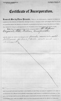 Copy of Incorporation Document