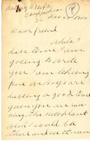 Thomas Benjamin Pritchard to Charles T. Woollen