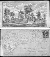 Envelope, University of North Carolina,